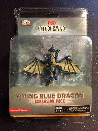 Dungeons & Dragons: Attack Wing – Young Blue Dragon Expansion Pack