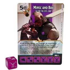Dungeons & Dragons Dice Masters: Battle for Faerûn Minsc and Boo Promo Card