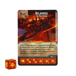 Dungeons & Dragons Dice Masters: Faerûn Under Siege Belaphoss Promo Card