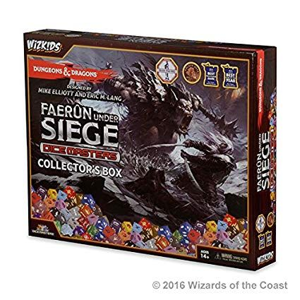 Dungeons & Dragons Dice Masters: Faerun Under Siege – Collector's Box