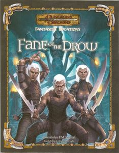 Dungeons & Dragons Fantastic Locations: Fane of the Drow