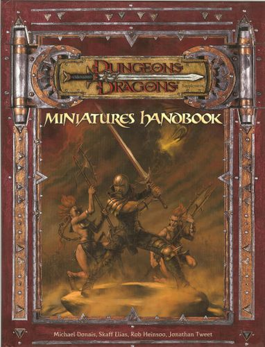 Dungeons & Dragons Miniatures Handbook Board Game | BoardGames com