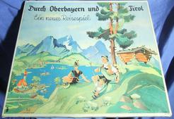 Durch Oberbayern und Tirol: Ein neues Reisespiel