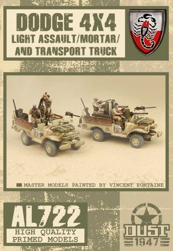 Dust 1947: Desert Scorpions Assault/Mortar Truck