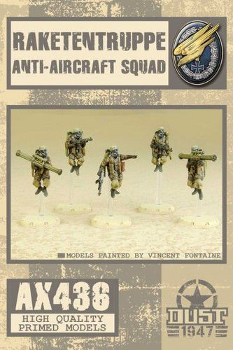 Dust 1947: Fallschirmjäger Anti-Aircraft Squad
