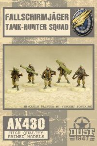 Dust 1947: Fallschirmjäger Tank-Hunter Squad