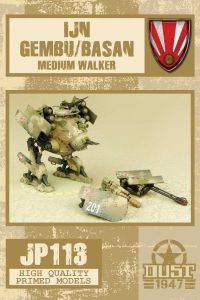 Dust 1947: IJN Gembu/Basan Medium Walker