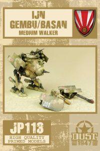 Dust 1947: IJN Gembu/Basan Medium Walker