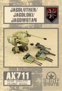 Dust 1947: Jagdluther/Jagdloki/Jagdwotan