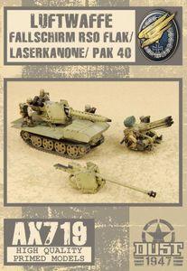 Dust 1947: Luftwaffe Fallschirm RSO Flak/Laserkanone/Pak 40
