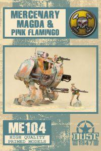 Dust 1947: Magda & Pink Flamingo