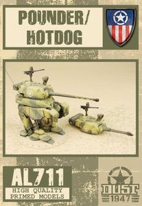 Dust 1947: Pounder/Hot Dog