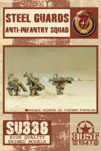 Dust 1947: Steel Guards Anti-Infantry squad