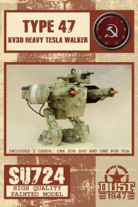 Dust 1947: Type 47 Heavy Tesla Walker