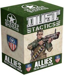 Dust Tactics: Allies 2014 Forces Deck