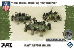 Dust Tactics: Allies Heavy Support Walker –