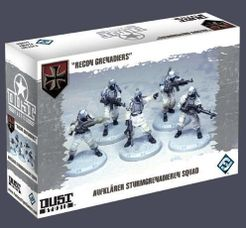Dust Tactics: Aufklärer Sturmgrenadieren Squad –