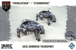 Dust Tactics: Axis Armored Transport –