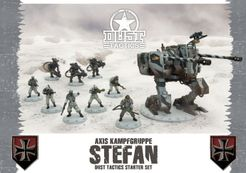 Dust Tactics: Axis Kampfgruppe Stefan Starter Set