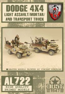 Dust Tactics: Desert Scorpions Assault/Mortar Truck