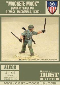 Dust Tactics: Gunnery Sergeant Q 'Mack' MacDonald –