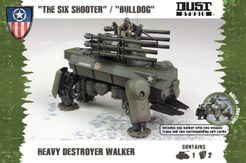 Dust Tactics: Heavy Destroyer Walker –
