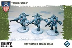 Dust Tactics: Heavy Ranger Attack Squad –