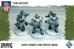 Dust Tactics: Heavy Ranger Tank Hunter Squad –