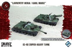 Dust Tactics: IS-48 Super-Heavy Tank –