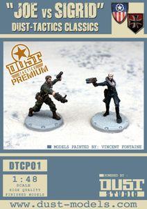 Dust Tactics: Joe vs Sigrid