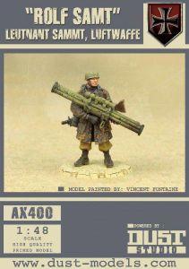 Dust Tactics: Leutnant Sammt, Luftwaffe –