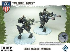 Dust Tactics: Light Assault Walker –