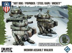 Dust Tactics: Medium Assault Walker –