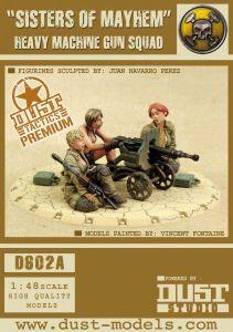 Dust Tactics: Mercenary Heavy Machine Gun Squad –