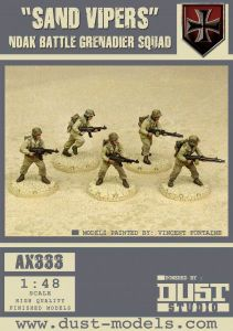 Dust Tactics: NDAK Battle Grenadier Squad –