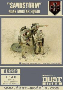 Dust Tactics:  NDAK Mortar Squad –