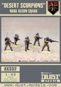 Dust Tactics: NDAK Recon Squad –