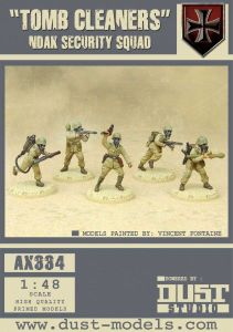 Dust Tactics: NDAK Security Squad –