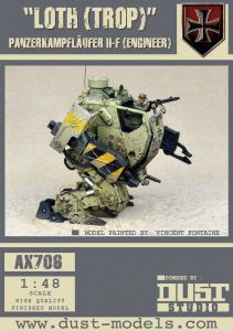 Dust Tactics: Panzerkamplaufer II-F –