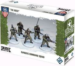 Dust Tactics: Rangers Command Squad –