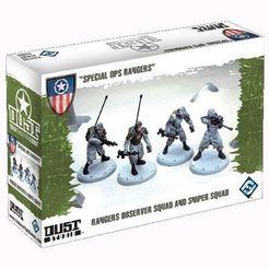 Dust Tactics: Rangers Observer Squad and Sniper Squad –
