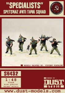 Dust Tactics: Spetsnaz Anti-Tank Squad –