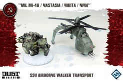 Dust Tactics: SSU Airborne Walker Transport –