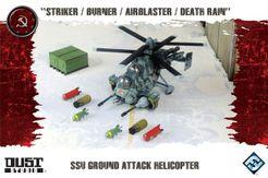 Dust Tactics: SSU Ground Attack Helicopter –