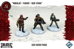 Dust Tactics: SSU Hero Pack –