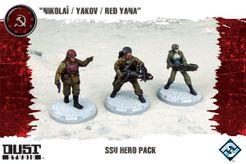 Dust Tactics: SSU Hero Pack –