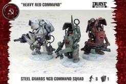 Dust Tactics: Steel Guard NCO Command Squad –