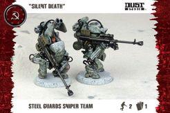 Dust Tactics: Steel Guard Sniper Team –