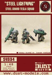 Dust Tactics: Steel Guard Tesla Squad –