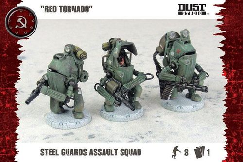 Dust Tactics: Steel Guards Assault Squad –